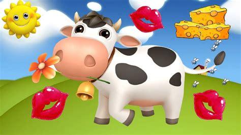 imagenes de amor animadas de vacas tengo una vaca lechera canci 243 n popular infantil youtube
