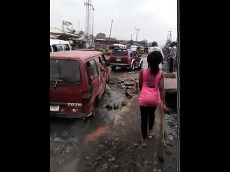 aba abia state nigeria celebrates  years  bad roads