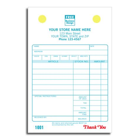 jewelry receipt template jewelry register invoice forms 607 at print ez