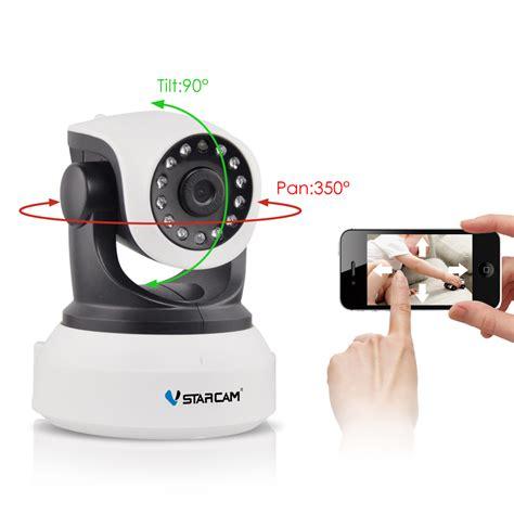 Termurah Ip C7824wip Hd 720p Kamera Ip Wireless P2p Cctv Bagus vstarcam c7824wip hd wireless ip 720p vision home security p2p indoor ir