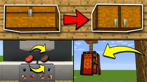 8 Secrets You Can by 8 Secret Things You Can Make In Minecraft Pocket Edition