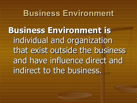 Business And Environment Notes For Mba by 02 Business Environment