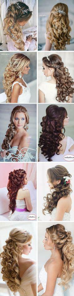 Bridal Hair Half Up Tutorial by The Power Of Makeup Stunning Half Up Half Wedding