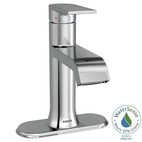 Moen Kitchen Faucet Assembly by Moen Genta Single Single Handle Bathroom Faucet With