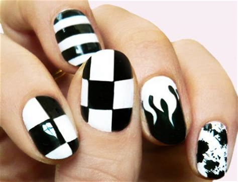 easy nail art designs for beginners simple black nail art designs supplies for beginners