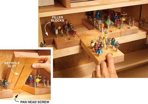 woodworking solutions 6 storage solutions you can build into any cabinet