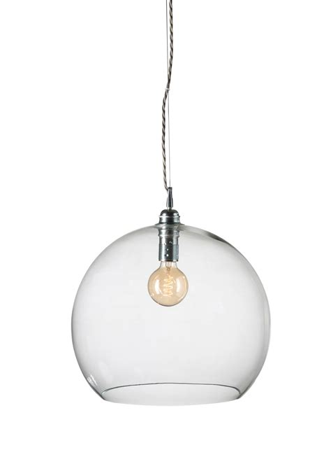 clear pendant light clear rowan pendant light with silver in large