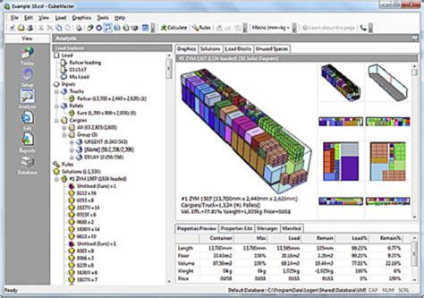 cargo loading software container truck load plan and optimization packaging design software