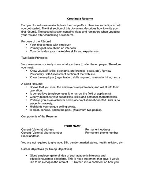 exles of resumes qualifications resume general