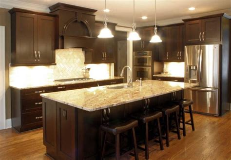 platinum kitchens espresso kitchen w typhoon bordeaux granite diy espresso