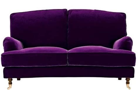 velvet purple sofa purple velvet sofa i want this