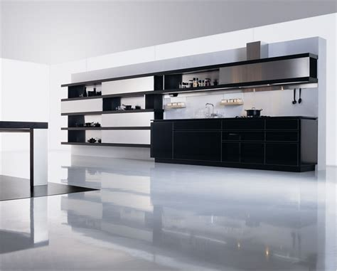 kitchen design black and white 30 black and white kitchen design ideas digsdigs