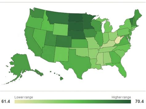 happiest states in the us north dakota is happier than hawaii abc news