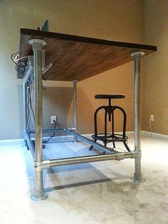 build your own sit stand desk tired of sitting down diy your own standing desk with