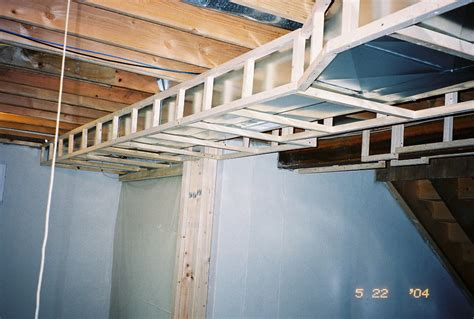 how to heat basement soffit around heating ducts in room