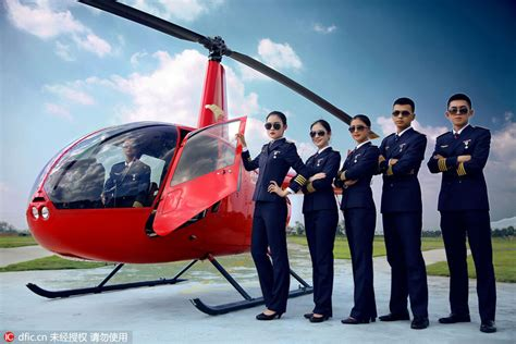handsome salary of helicopter pilot lures college applicants 6 chinadaily cn