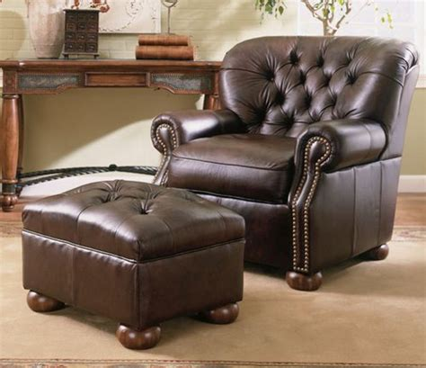 leather chair with ottoman costco leather chair and ottoman costco