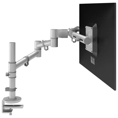 viewgo monitor arm desk 12 silver healthy workstations