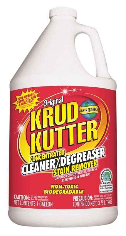 krud kutter kk biodegradable water based cleaner