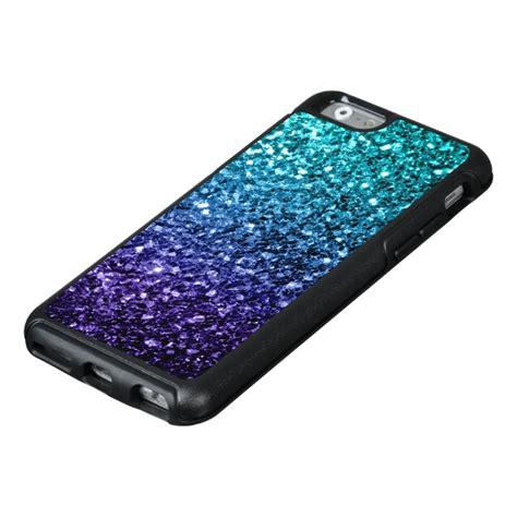 beautiful aqua blue ombre glitter sparkles otterbox iphone  case case