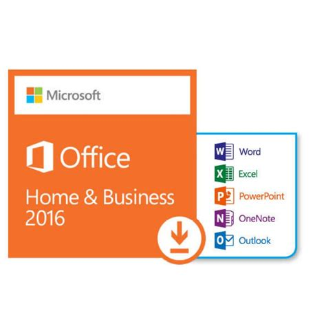 Office Home And Business 2016 Ms Office 2016 Home And Business Win Promo