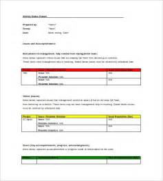 qa weekly status report template weekly status report template 9 free documents