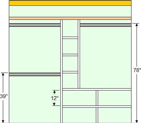 how to make closet organizer system woodwork build closet organizer pdf plans