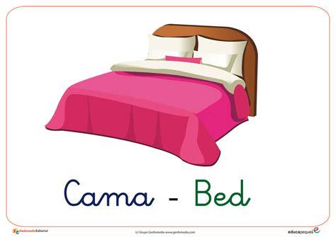 vocabulario b 225 sico dormitorio educapeques