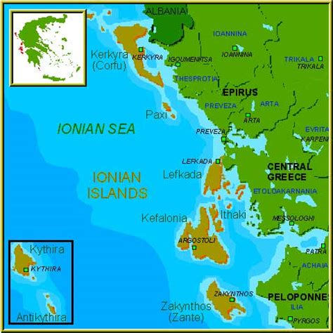 ionian sea map big blue 1840 1940 ionian islands