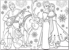 de  bedste billeder fra frozen coloring pages