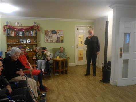 bill easton visits white lodge barchester healthcare