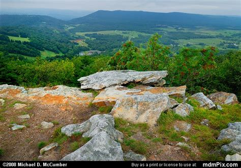 Bald Knob Va by Bald Knob Overlook Picture 005 September 4 2006 From