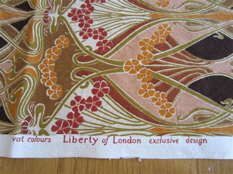 liberty of london upholstery fabric ianthe liberty of london furnishing weight fabric vintage