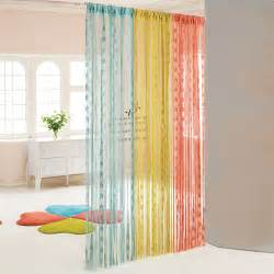 good How To Make Curtain Room Dividers #6: colorful-gossamer-curtains.jpg