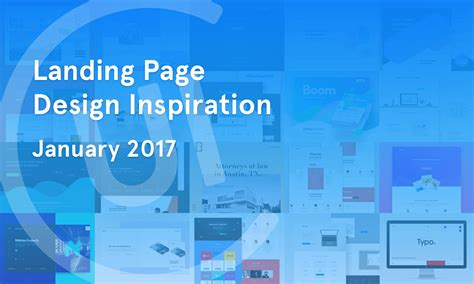 design inspiration dribbble landing page inspiration january 2017 collect ui