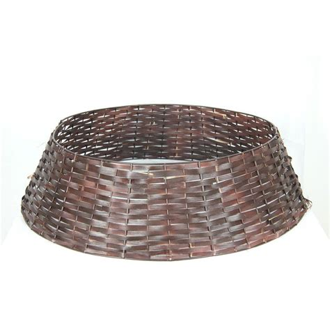 tree stand covers 25 in rattan tree stand cover bowotswth2 the home depot