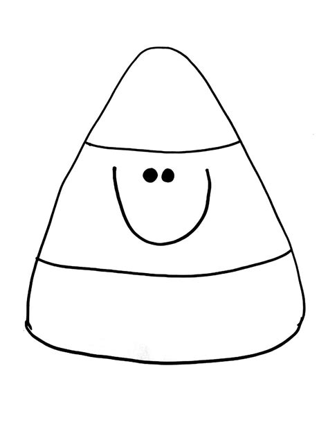 candy corn coloring page clipart best