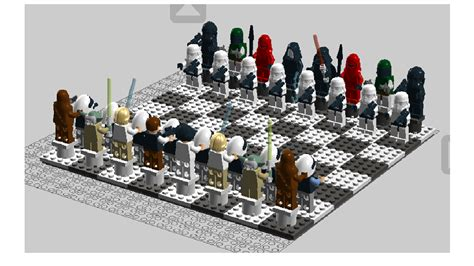 star wars chess sets lego ideas star wars chess set episodes 4 6