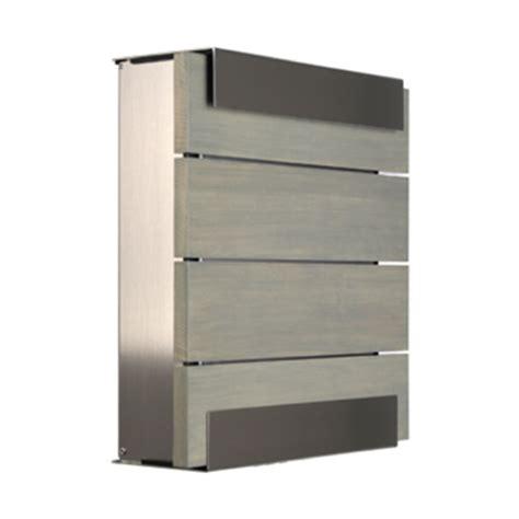 keilbach briefkasten briefkasten keilbach glasnost wood grey briefkasten