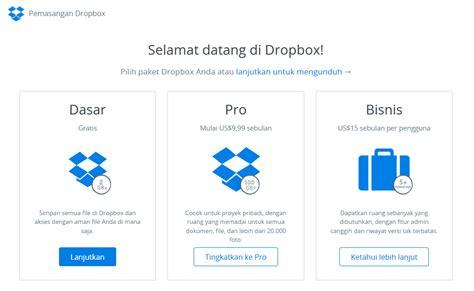 dropbox itu apa apa itu dropbox dan bagaimana cara penggunaannya
