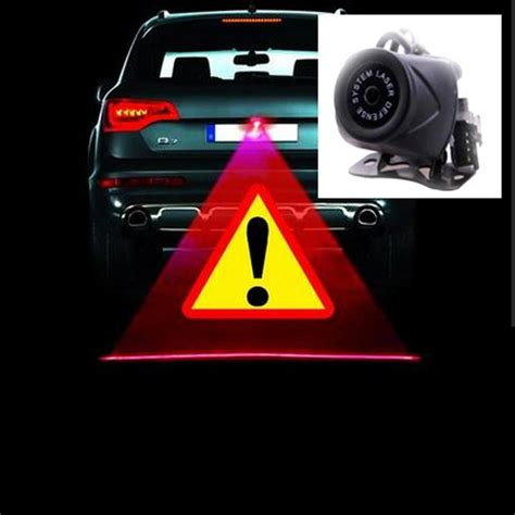 Car Motor Laser Fog Light anti collision rear end car laser fog light auto rearing warming light for volkswagen