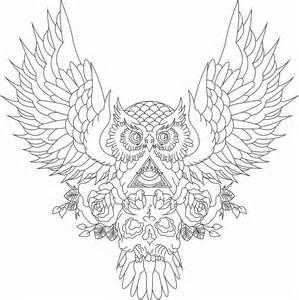 tattoo owl by crazyshotboy on deviantart