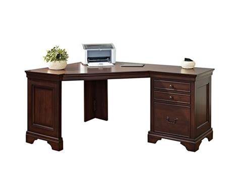 corner desk with hutch and drawers corner desk with three drawers home woot