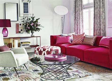 White Sofa Wohnzimmer Dekorieren Ideen by Wohnzimmer Ideen Mit Rosa 75 Verbl 252 Ffende Wohnzimmer Ideen