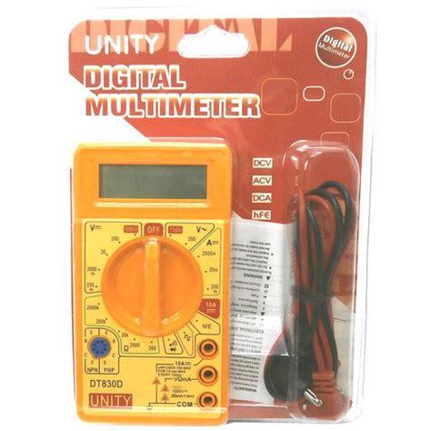 Multitester Mini multitester digital mini dt830d avometer digital mini