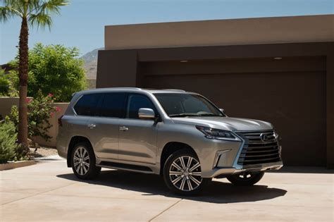 lexus 570 car 2016 refreshed 2016 lexus lx 570 suv bows at pebble beach