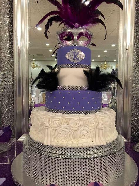 masquerade themed quinceanera cakes masquerade quincea 241 era party ideas gorgeous cakes