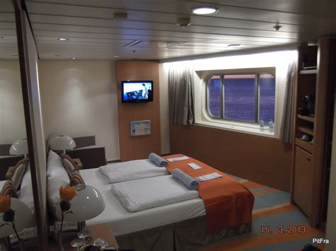 mein schiff 1 kabine 9005 kabine 8007 au 223 enkabine kategorie a ms1 kabinen deck 8