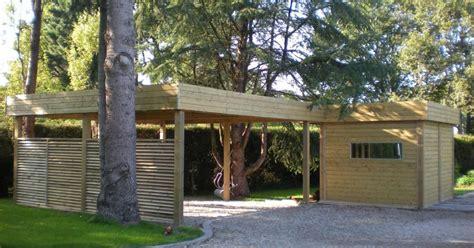Carport Construction Plans abri de jardin avec carport d 233 finition et caract 233 ristiques
