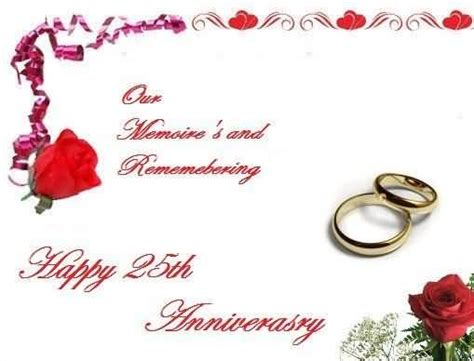 25th Anniversary Wishes Wishes Greetings by Mind Blowing Greetings 25th Anniversary Wishes For